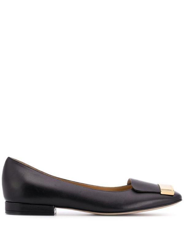 Sergio Rossi SR1 ballerina shoes in black