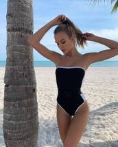 swimwear,josephine skriver,model,one piece swimsuit