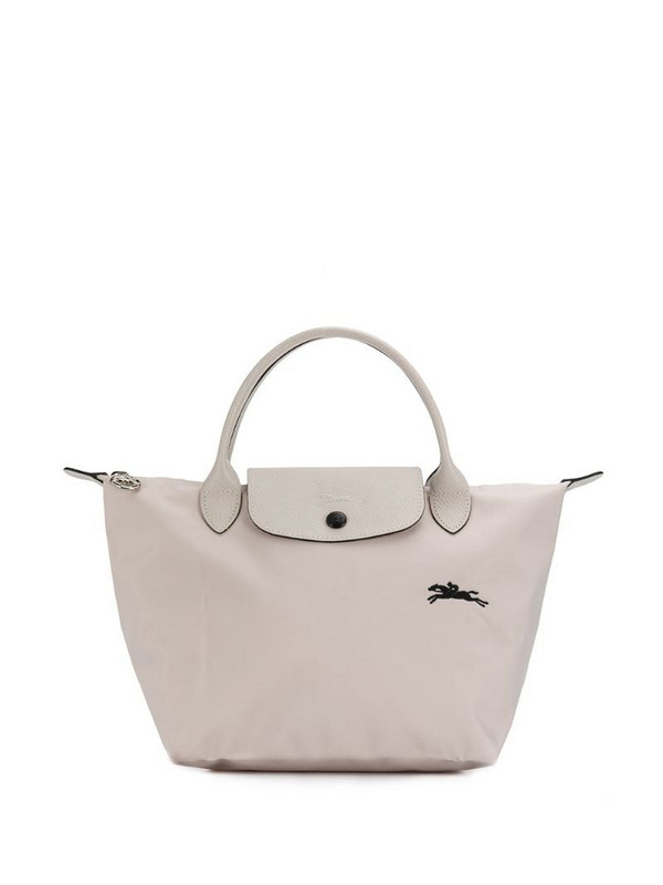 Longchamp small Le Pliage tote bag in neutrals