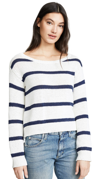 BB Dakota Sail Away Sweater in ivory