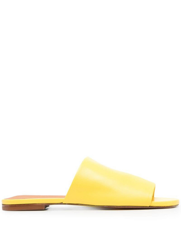 Clergerie Itou slip-on sandals in yellow
