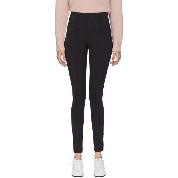 Sportmax Black Jersey Galilea Leggings