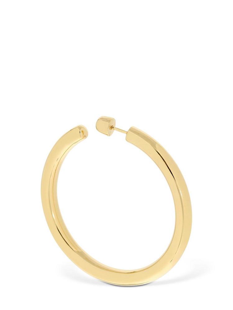 MARIA BLACK Ruby 50 Mono Hoop Earring in gold