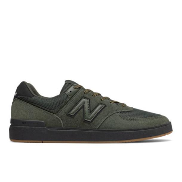 New Balance All Coasts 574 Men's Shoes - Green/Black (AM574BOV)