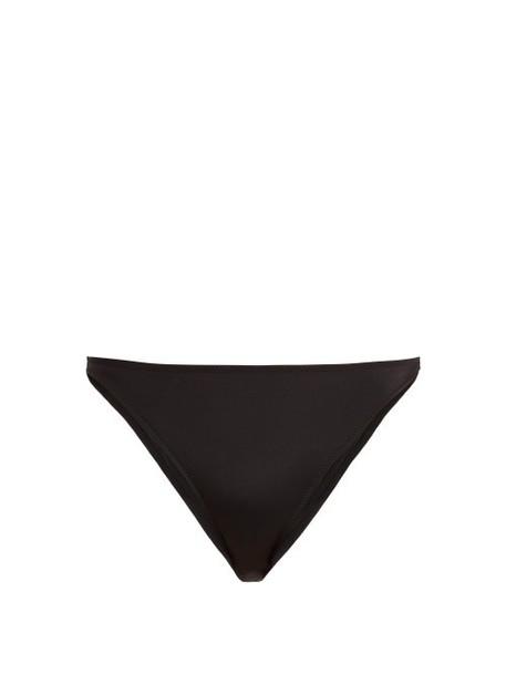 Solid & Striped - X Re/done The Hollywood Bikini Briefs - Womens - Black