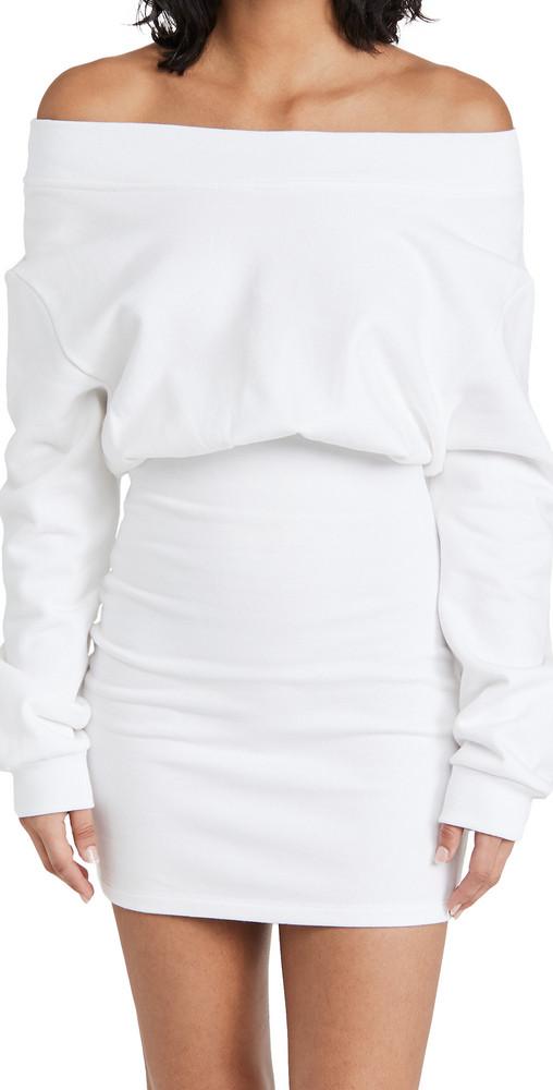 RtA Rachele Dress in white