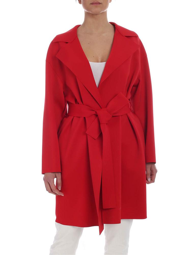 Harris Wharf London - Overcoat in red