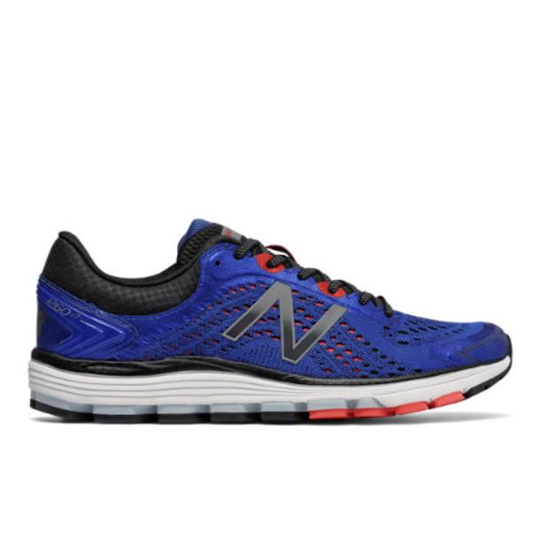 New Balance 1260v7 Men's Stability Shoes - Blue/Black/Red (M1260BO7)