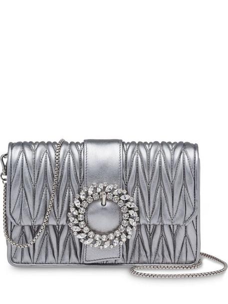 Miu Miu My Miu shoulder bag in silver