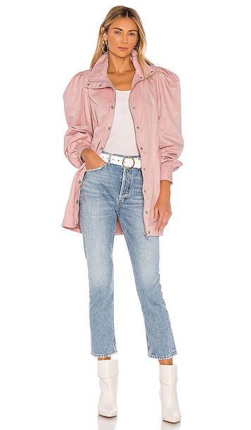 LPA Henrietta Coat in Pink