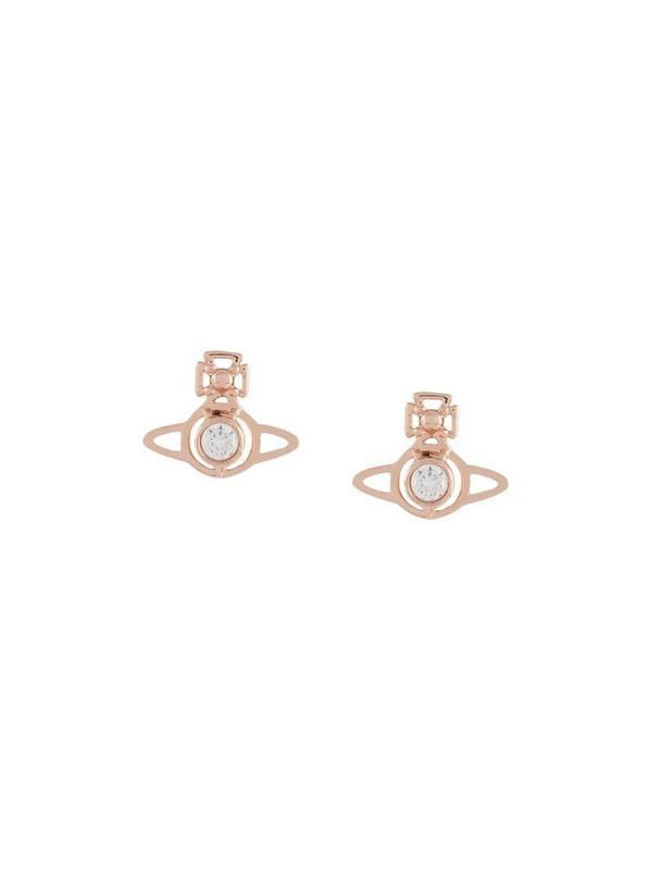 Vivienne Westwood small Orb pendant earrings in metallic