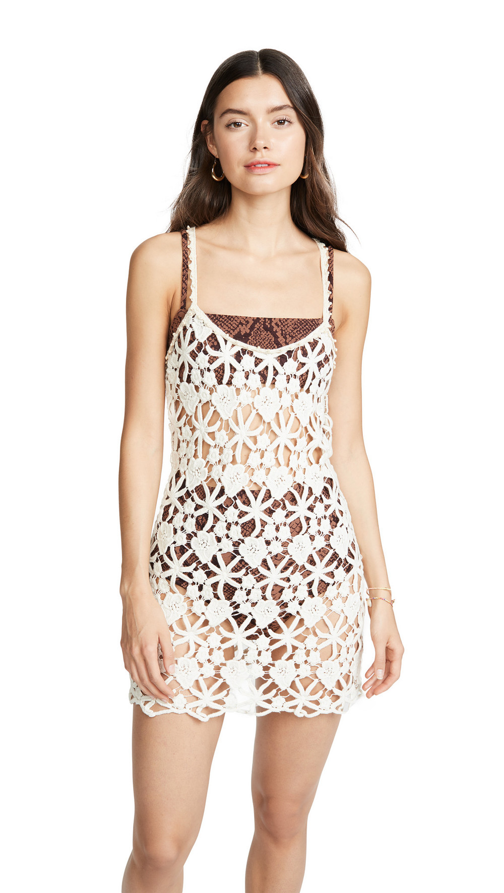 Ellejay Liz Dress in cream