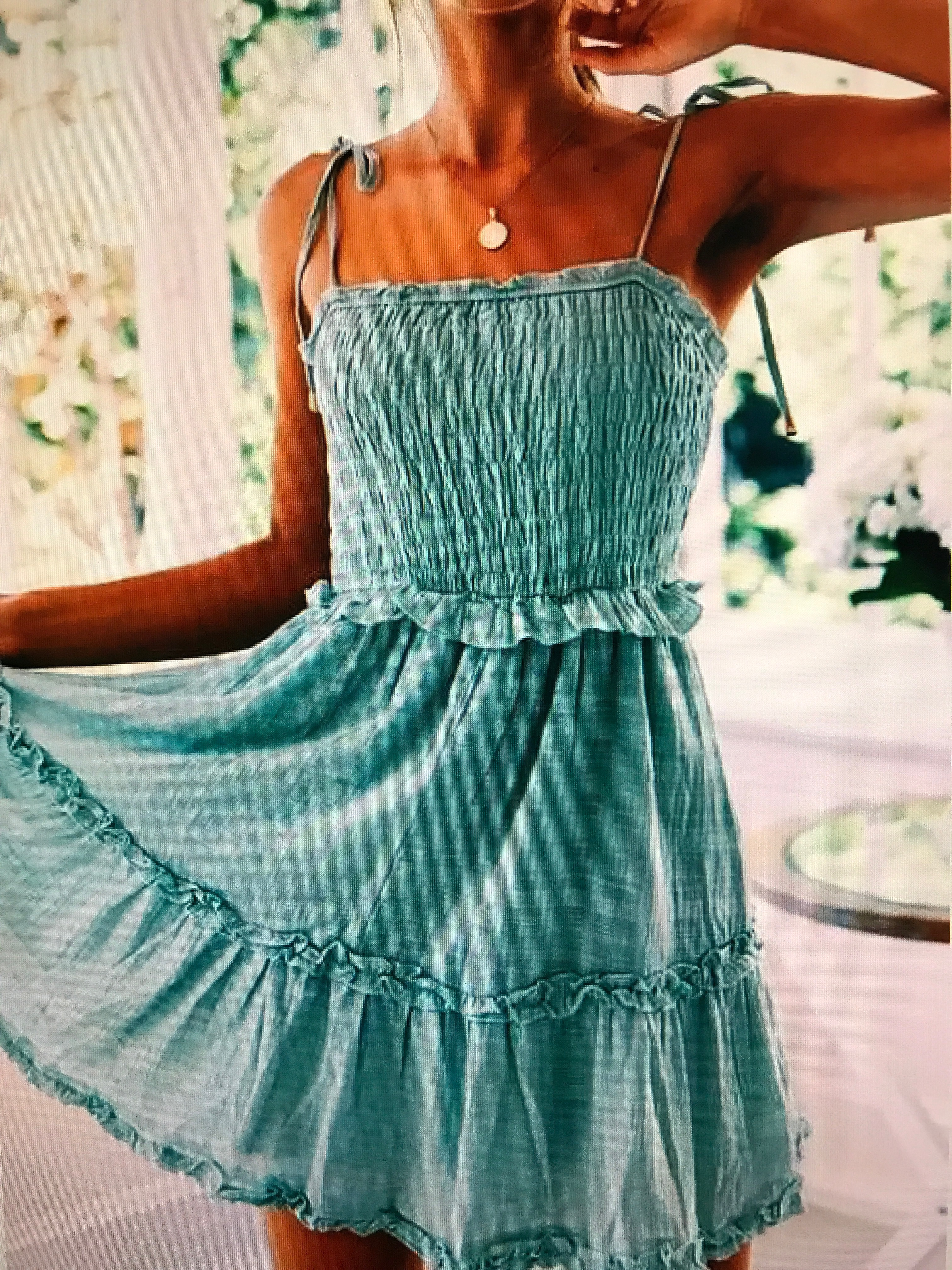 dress ruffle dress blue dress blue black dress summer dress