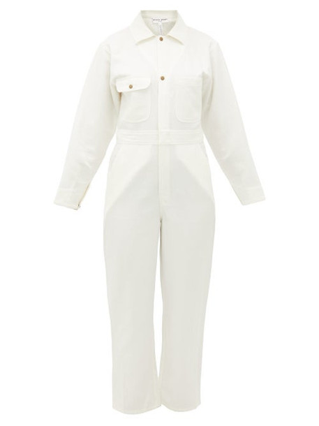 Apiece Apart - Totumo Linen-blend Jumpsuit - Womens - Cream