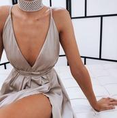 dress,silver,maxi dress,formal dress,prom dress,slit