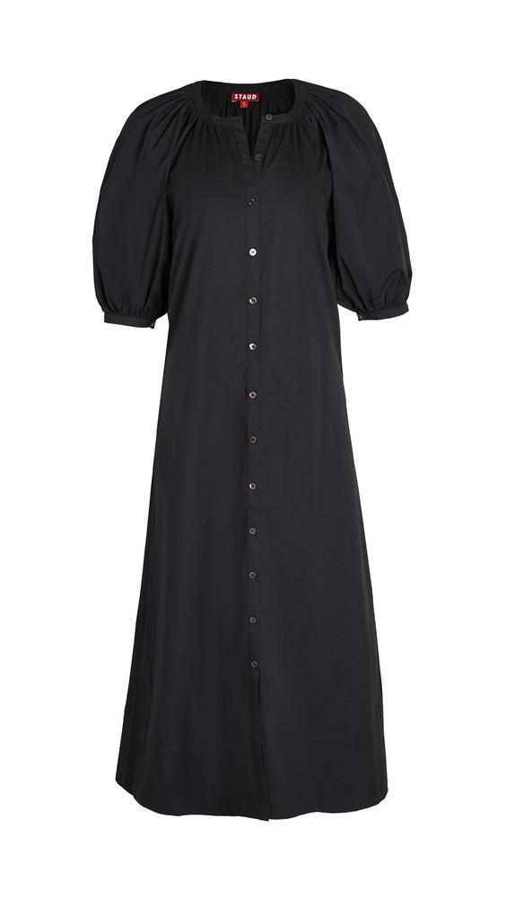 STAUD Vincent Dress in black