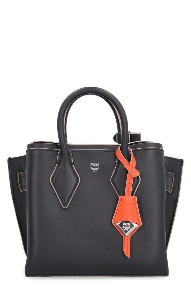 MCM Neo Milla Leather Mini Bag in black