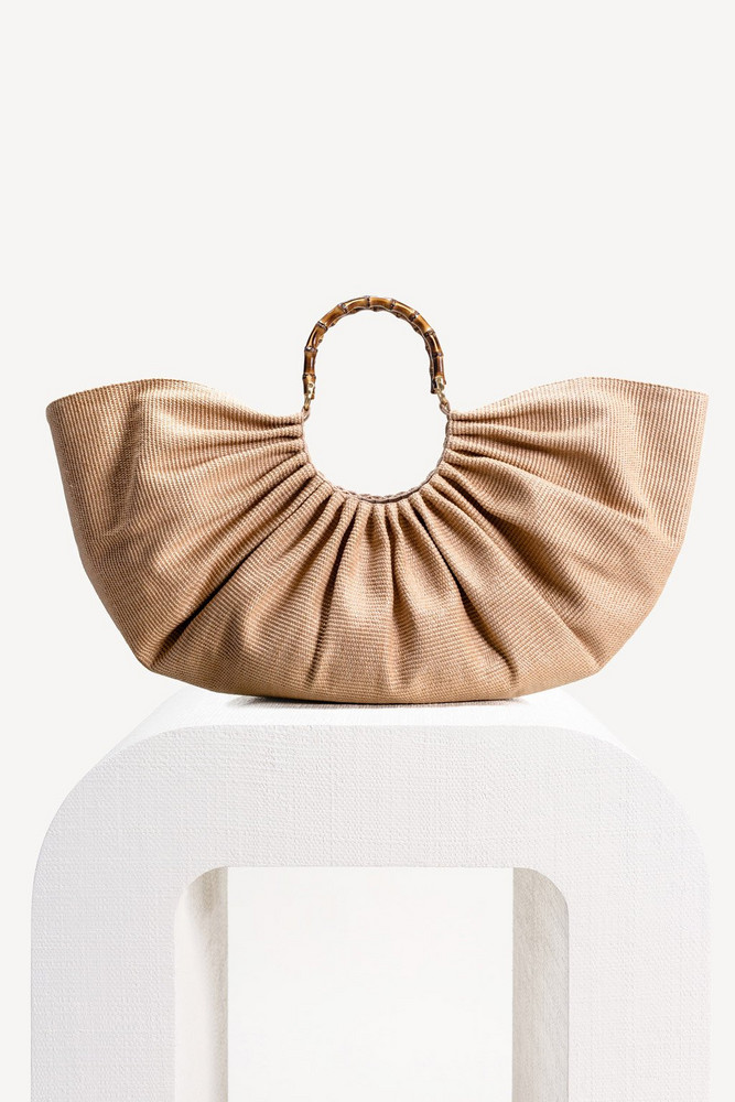 Cult Gaia Banu Bag - Natural                                                                                               $458.00
