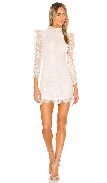 NBD Abra Dress in Cream
