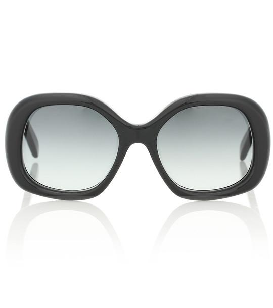 Celine Eyewear Round sunglasses in black