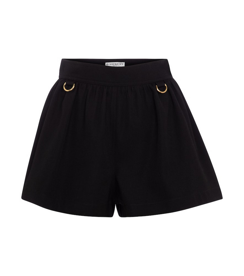 Givenchy Wool shorts in black