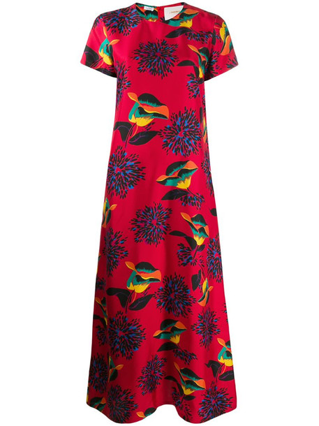 La Doublej Swing dress in red
