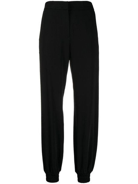 MSGM high-waist trousers in black