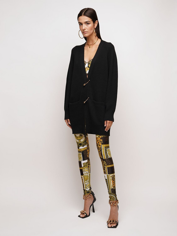 VERSACE Patchwork Print Leggings