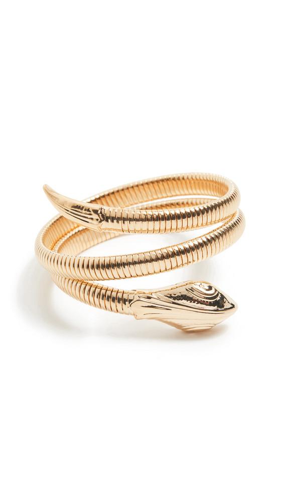 GAS Bijoux Serpent Bracelet in gold