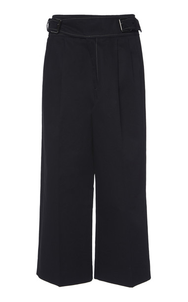 Marni Belted Wide Leg Culottes in black