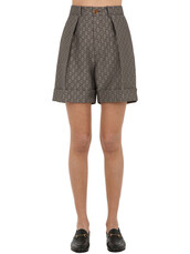 shorts,cotton,wool,brown,beige