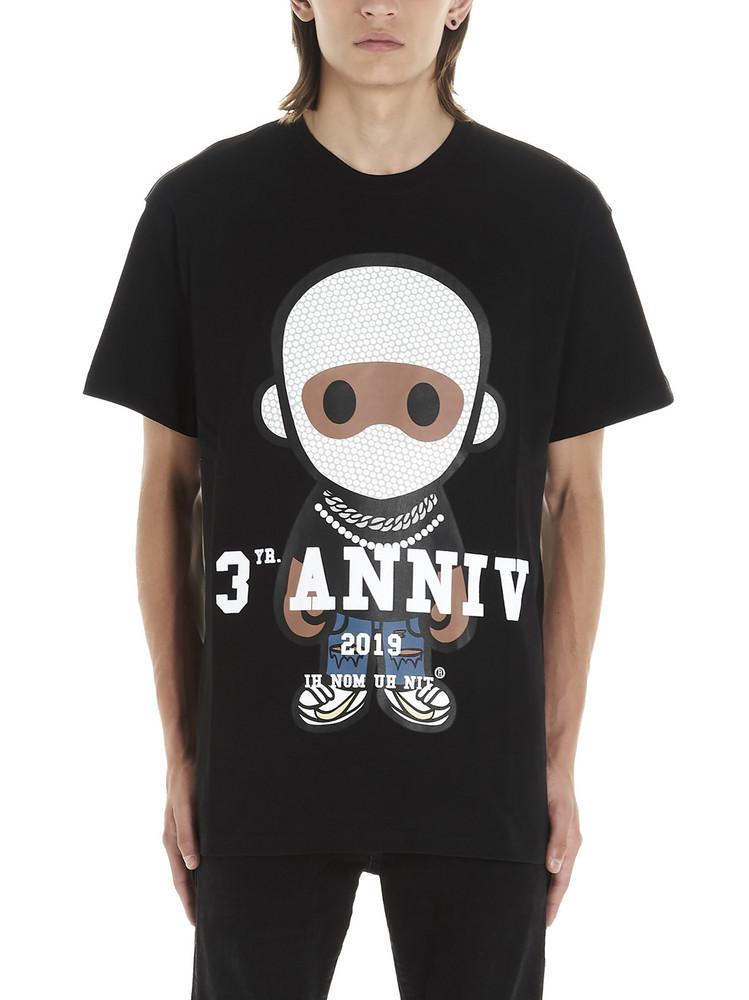 Ih Nom Uh Nit future 3 Anniv T-shirt in black