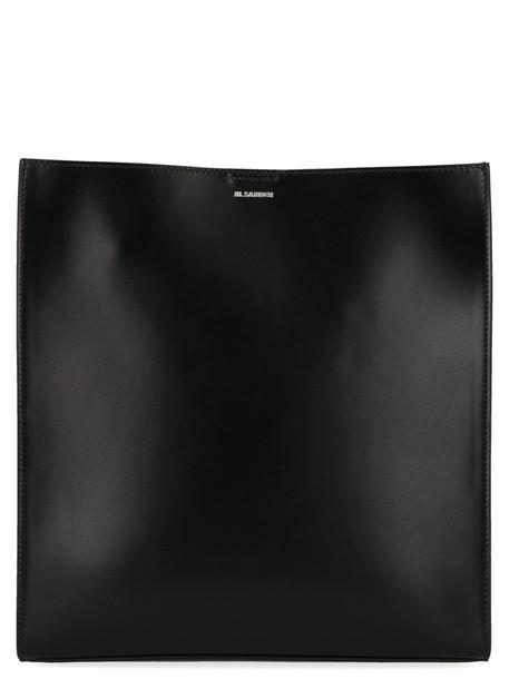 Jil Sander tangle Bag in black