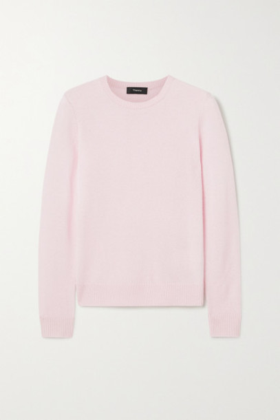 Theory - Cashmere Sweater - Pastel pink