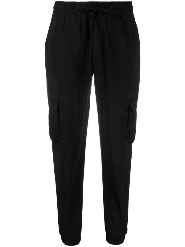 Thom Krom tapered cargo trousers in black