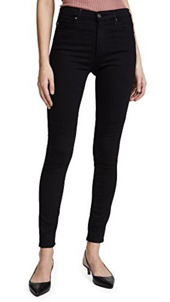 AG Superior Stretch Farrah Skinny Jeans in black