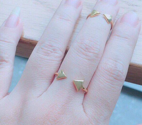 jewels triangle ring open ring ring jewelry silver ring mother day gifts minimalist jewelry silver jewelry gold jewelry