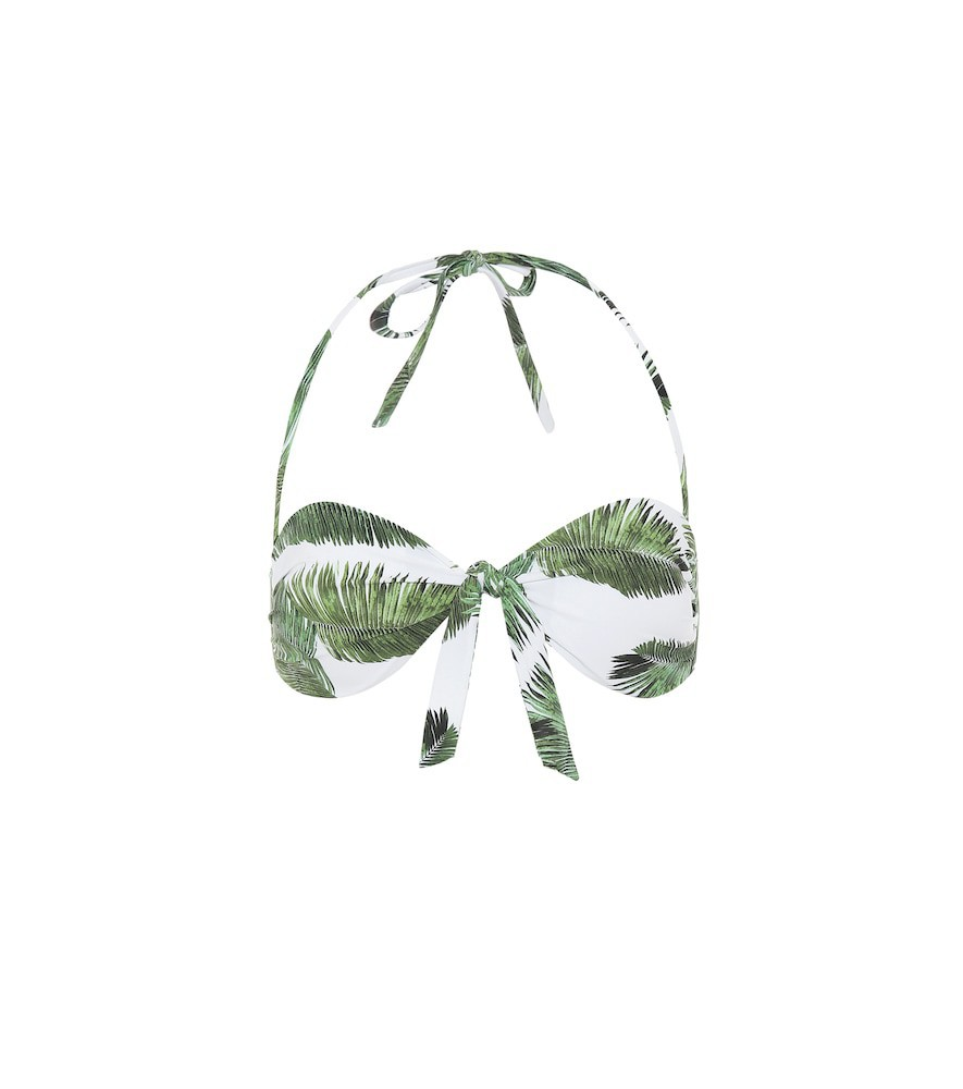 Melissa Odabash Caribe bikini top in green