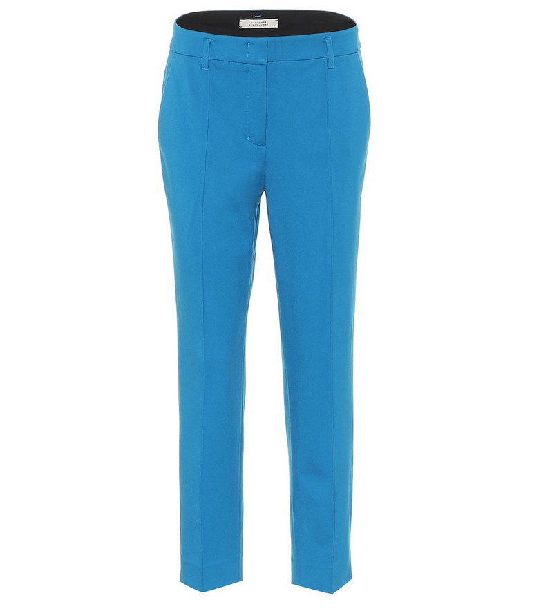 Dorothee Schumacher Emotional Essence mid-rise pants in blue