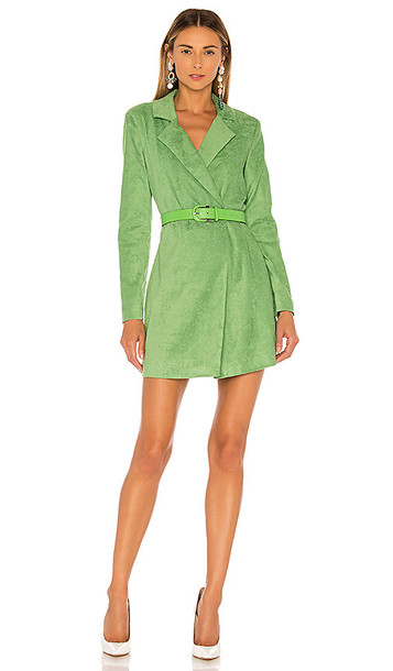 Lovers + Friends Lovers + Friends Charlie Jacket Dress in Green