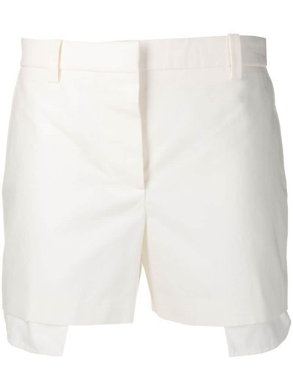 Givenchy visible pockets shorts in white