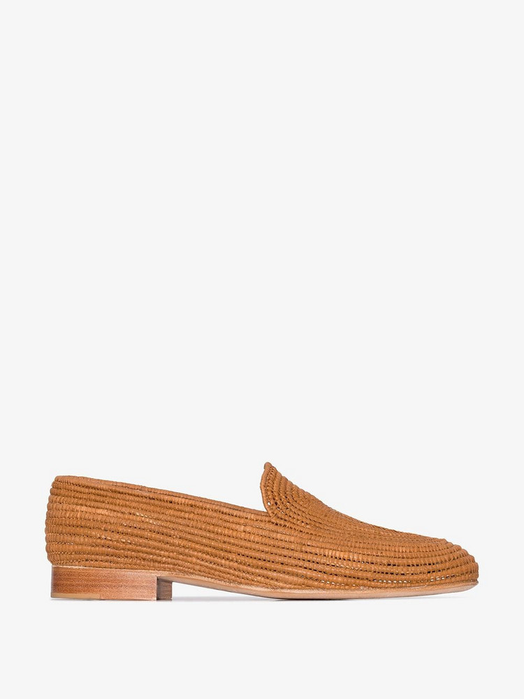 Carrie Forbes browns Atlas loafers in brown