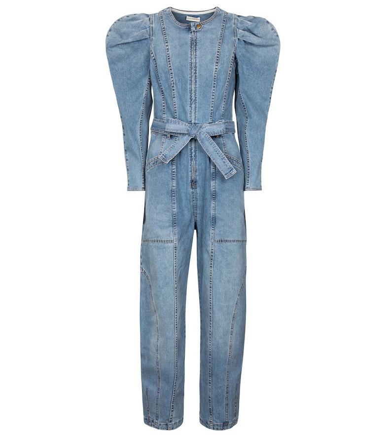 Ulla Johnson Pascale denim jumpsuit in blue