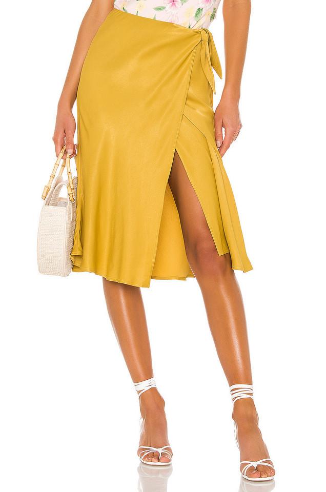 LPA Alessa Skirt in yellow