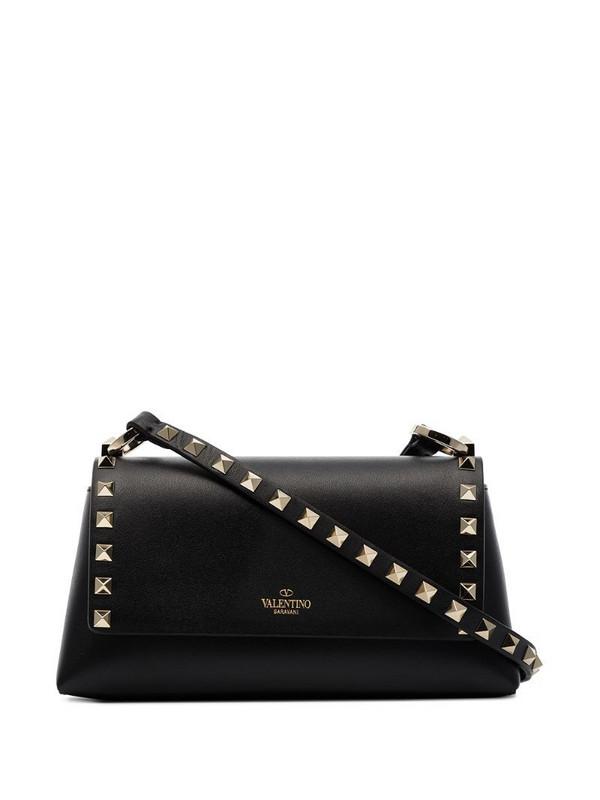 Valentino Garavani mini Rockstud crossbody bag in black