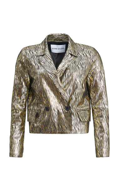 Stand Studio Lucia Blazer in gold