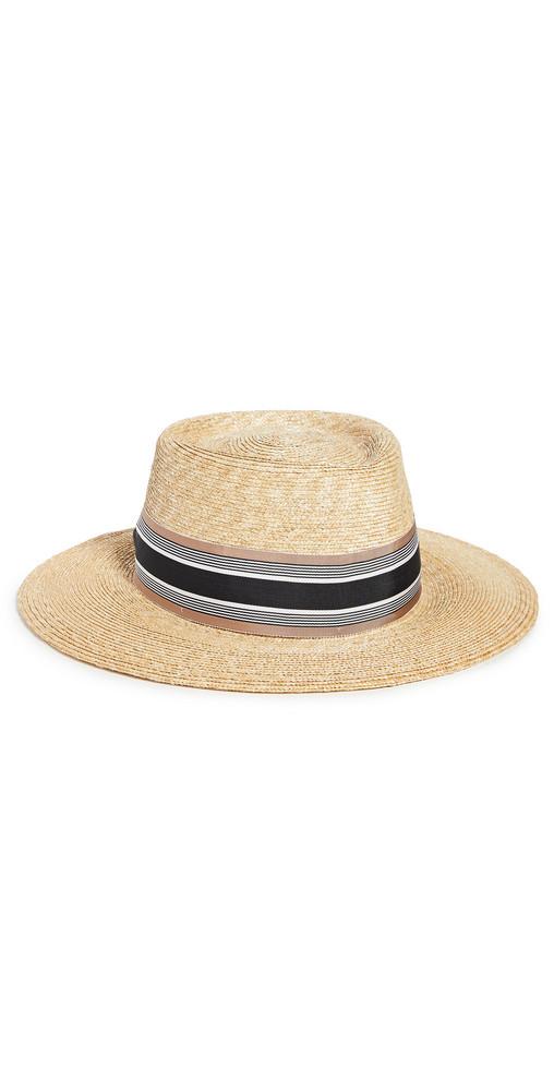 Gigi Burris Casey Hat in natural / multi