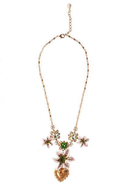 Dolce & Gabbana Floral Necklace