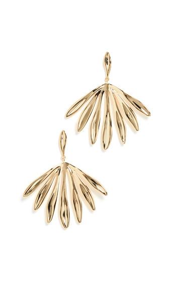 Gorjana Petal Earrings in gold