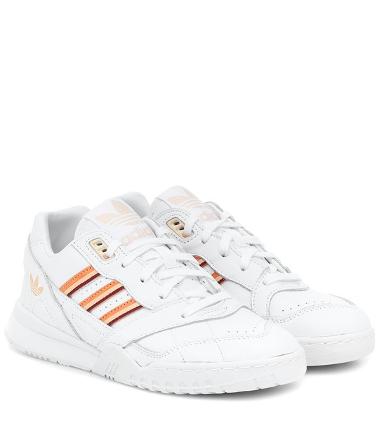 Adidas Originals A.R. leather sneakers in white